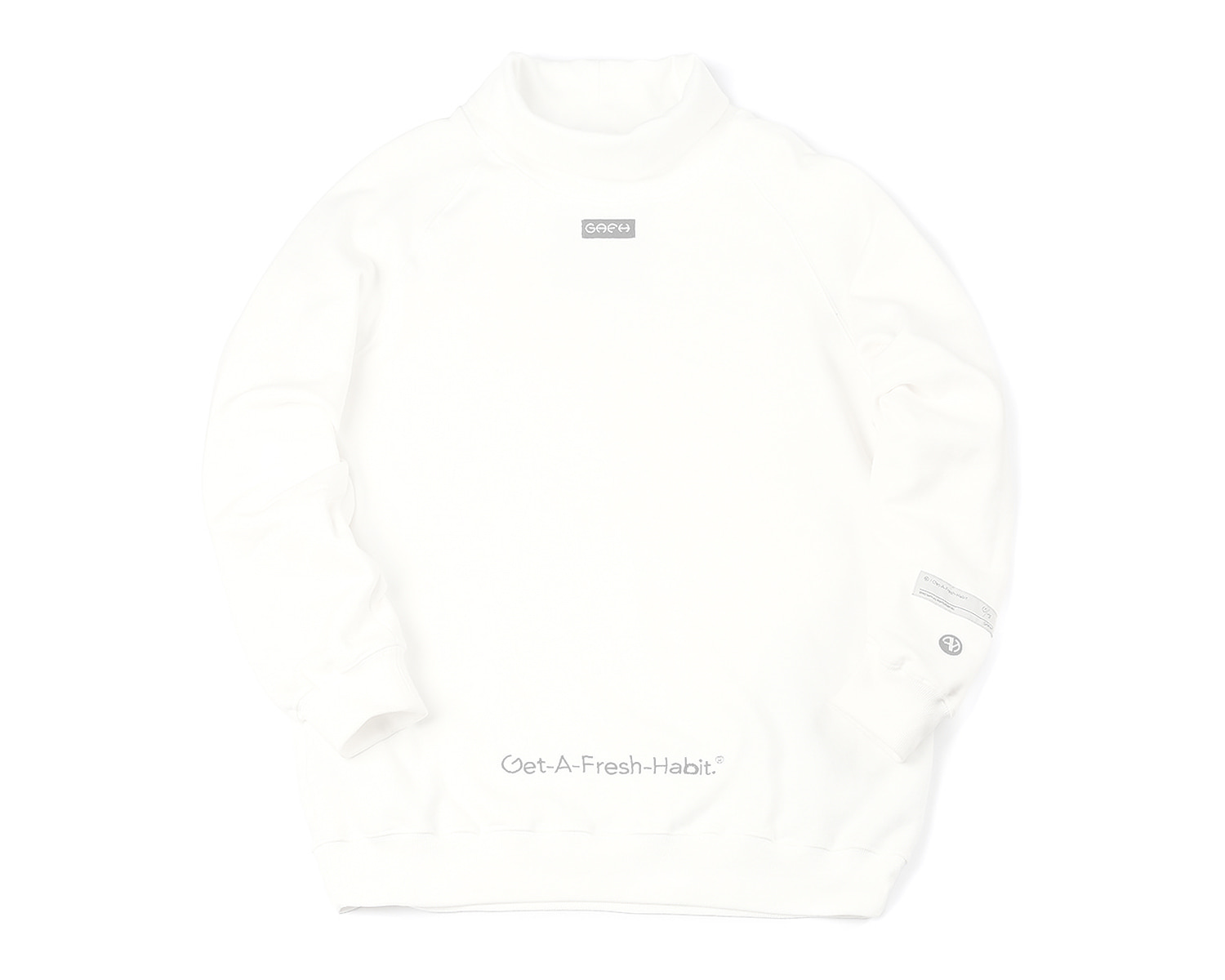 MOCK NECK WHITE / GAFH