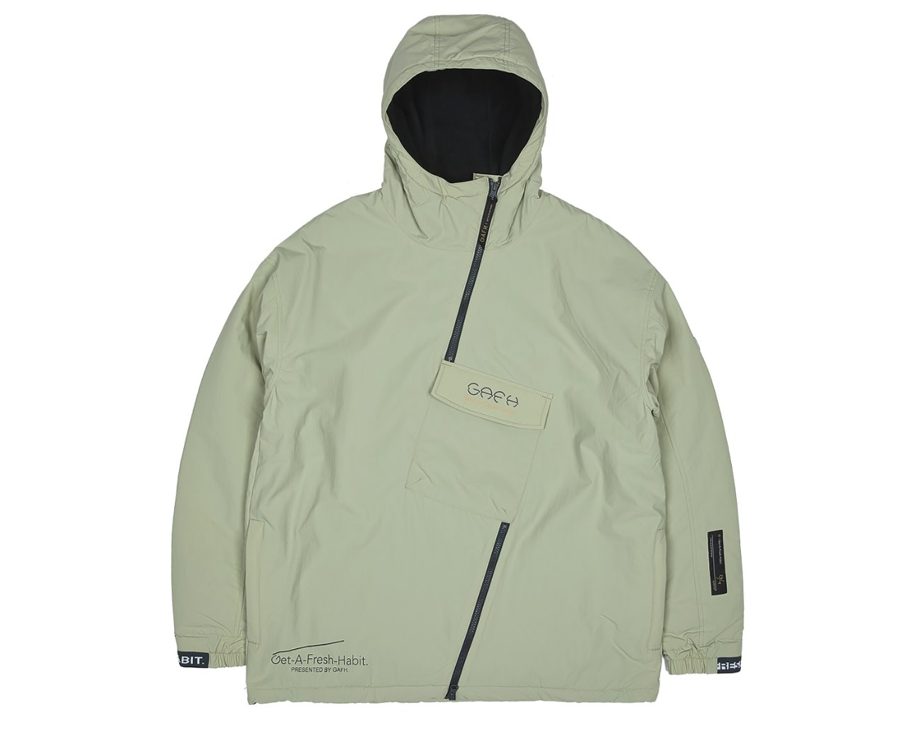 SIDE ZIP UP PULLOVER BOG / GAFH