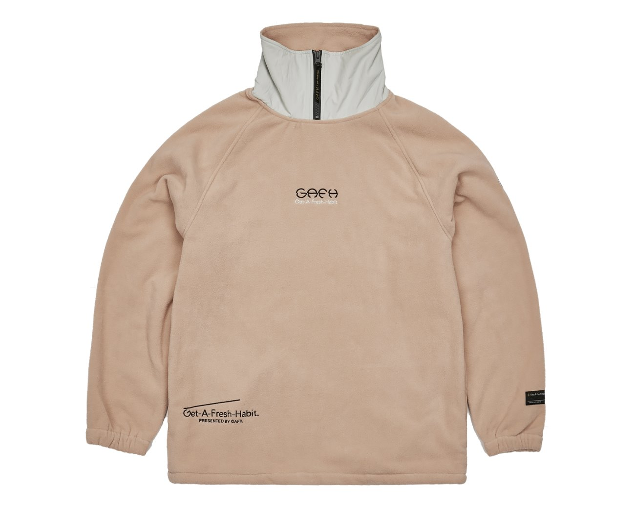 FLEECE HIGH NECK WHEAT / GAFH