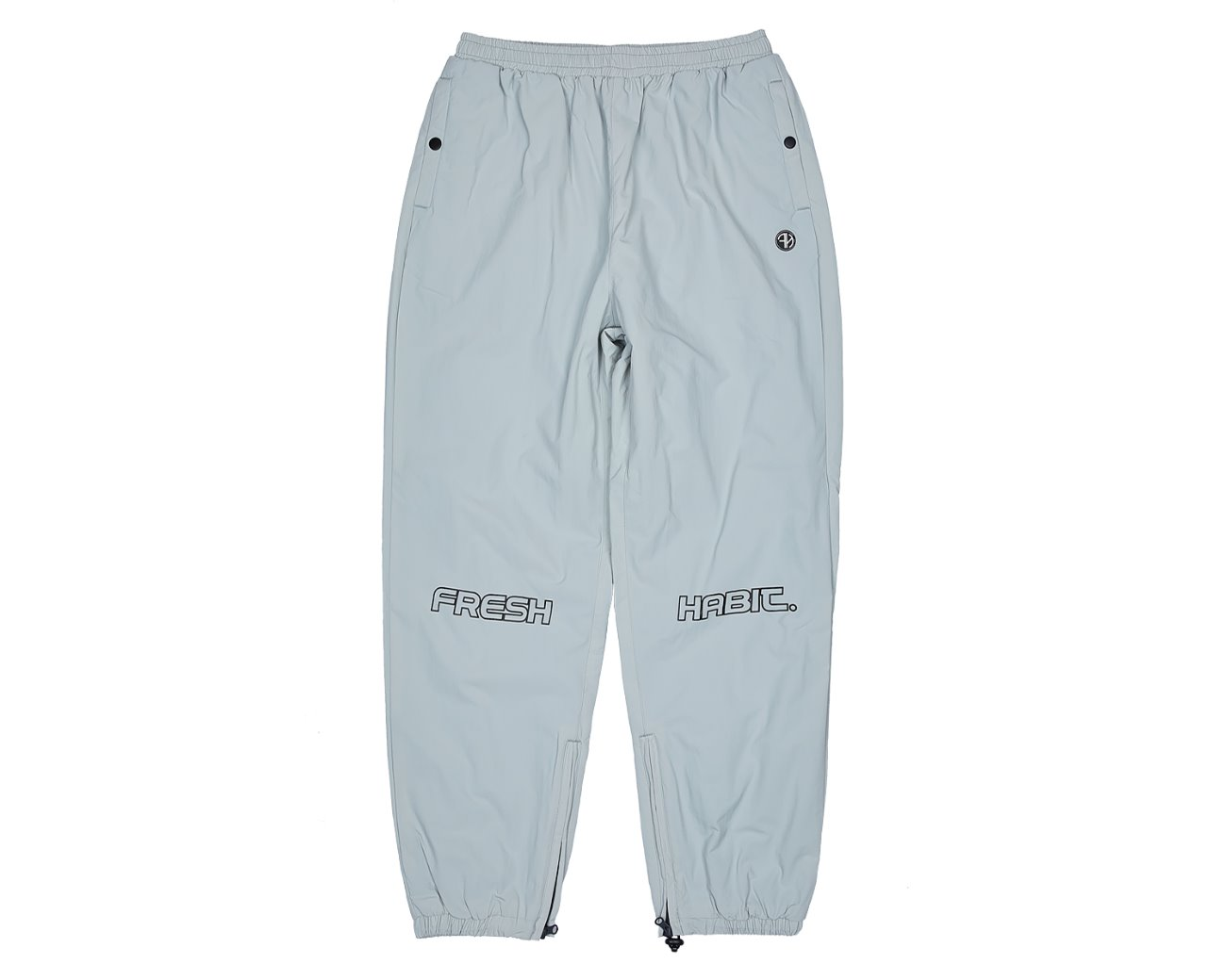 FH TRACK PANTS WHITEGRAY / GAFH